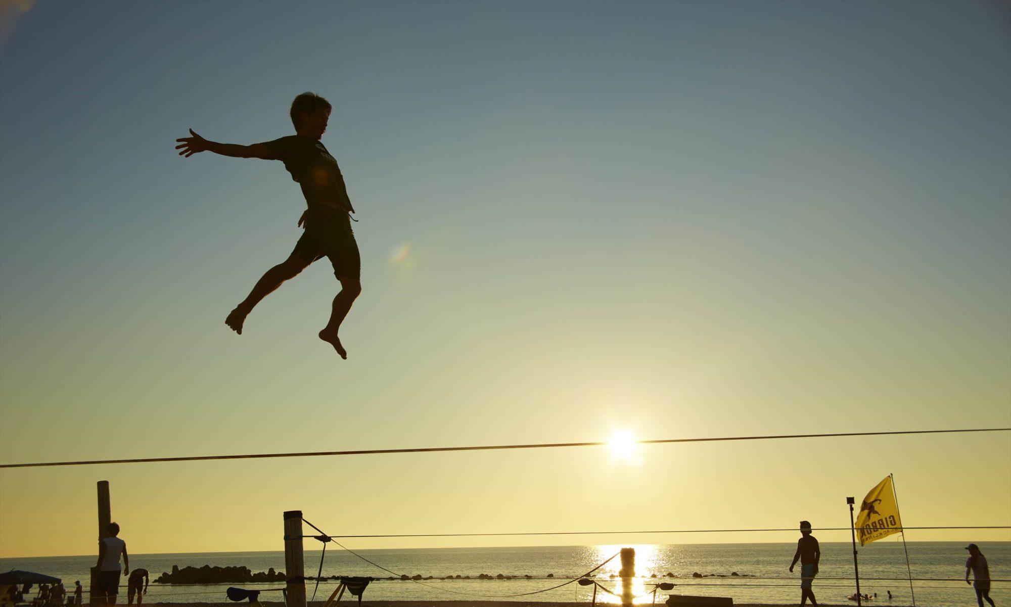 ギボンスラックライン Japan Beach Games®  2018