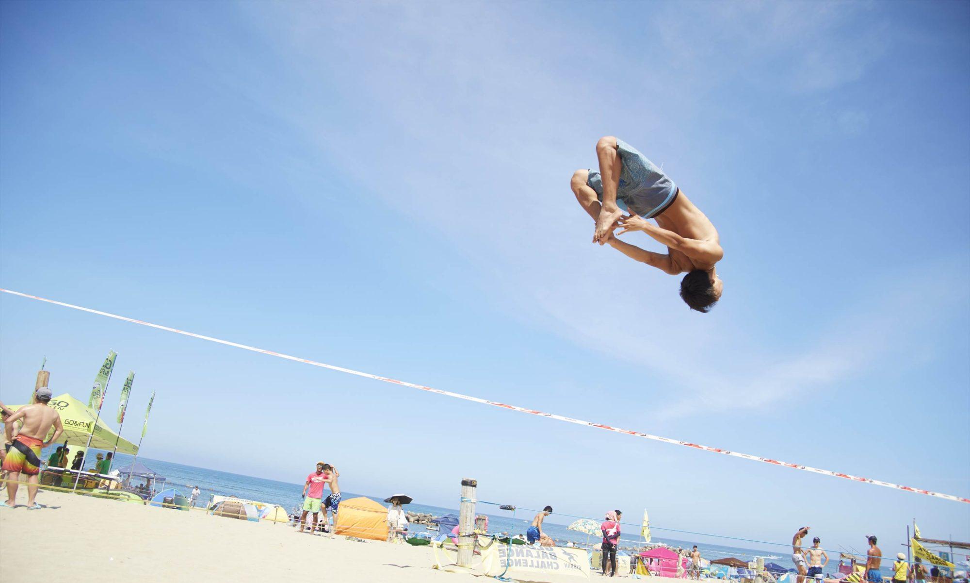 ギボンスラックライン Japan Beach Games®